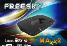 BAIXAR ATUALIZAÇÃO FREESKY MAXX 2 V.1.22 - 2018