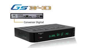 Atualização Globalsat Gs 340 sks 58w - 14 Julho 2017