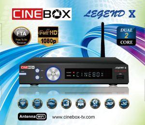 Cinebox atualização Legend x adicionado 63w - 08/07/2017