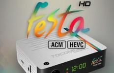 NOVA ATUALIZAÇÃO TOCOMLINK FESTA HD V.137 - 15/09/2017