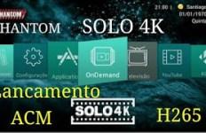 Atualização phantom solo 4k v.2.0.2.418 - julho 2017