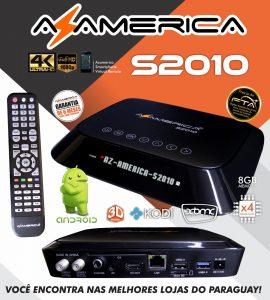 Azamerica s2010 v.3.09 atualização - 15/06/2017