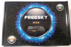 Atualização freesky max Star v.1.03 data 10/05/2017