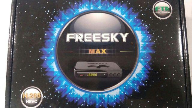ATUALIZAÇÃO FREESKY MAX STAR V.1.12 - 03 NOVEMBRO 2017