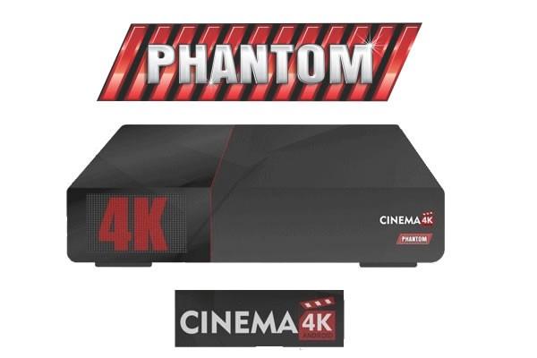 ATUALIZAÇÃO PHANTOM CINEMA 4K V.20.52 - 2017