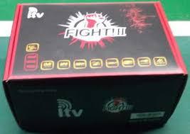 ATUALIZAÇÃO ITV FIGHT V1.103- 10 SETEMBRO 2017