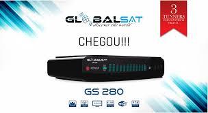 Globalsat Gs280 hd nova Atualização v.20024 - 3 Novembro 2018