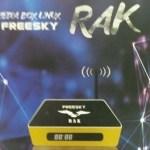 Novo box Freesky rak com sistema linux confira - 29/10/2017