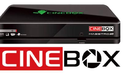 Cinebox Maestro Hd Nova atualização - 05/11/2018