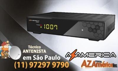 AZAMERICA S1007 HD ATUALIZAÇÃO