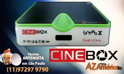 atualização Cinebox Fantasia X