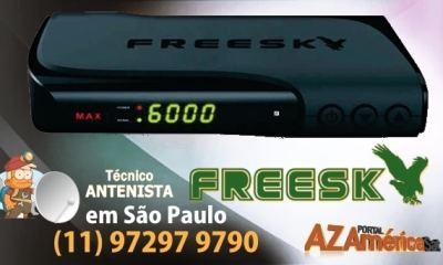 Atualização Freesky Max