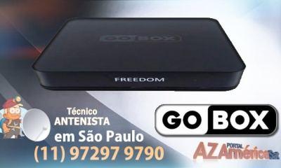Gobox Freedom Nova Atualização