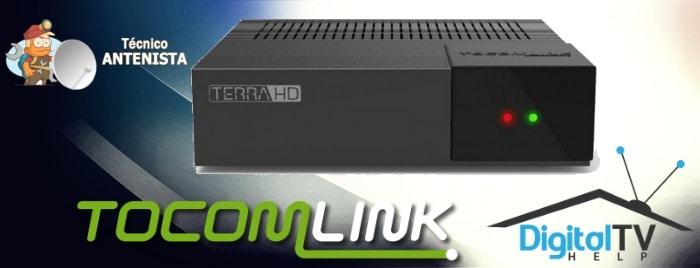 TocomLink Terra e Terra Plus HD Nova Atualização