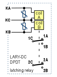 dpdt latching relay wiring diagram wiring diagram omron ly2 relay wiring diagram and schematic design