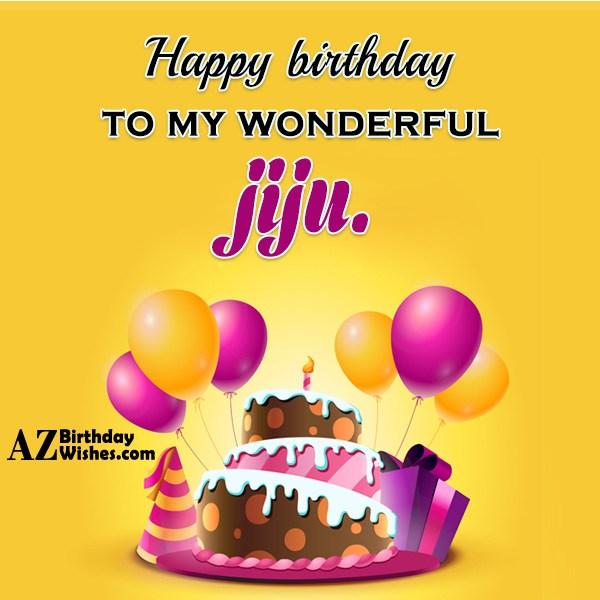 Happy Birthday Cake Jiju