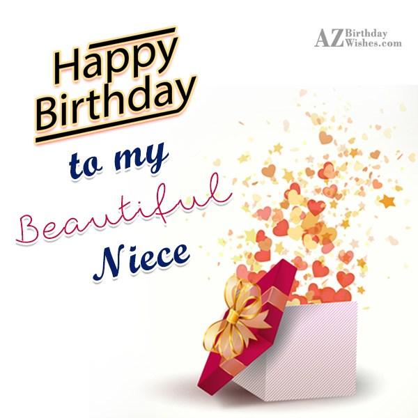 Happy Birthday To My Beautiful Niece