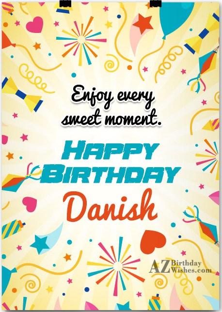 Happy Birthday Danish