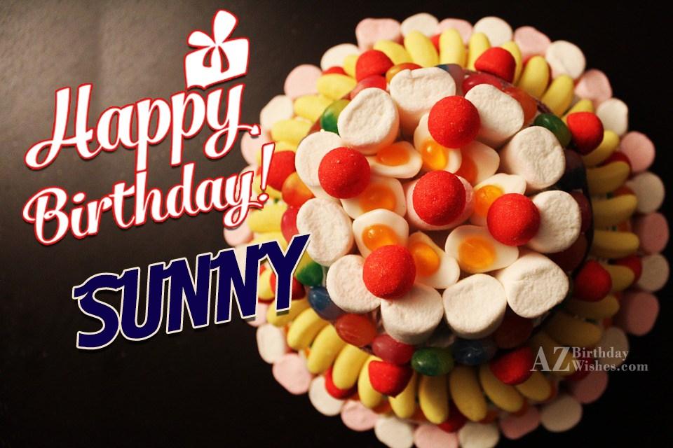 Happy Birthday Sunny