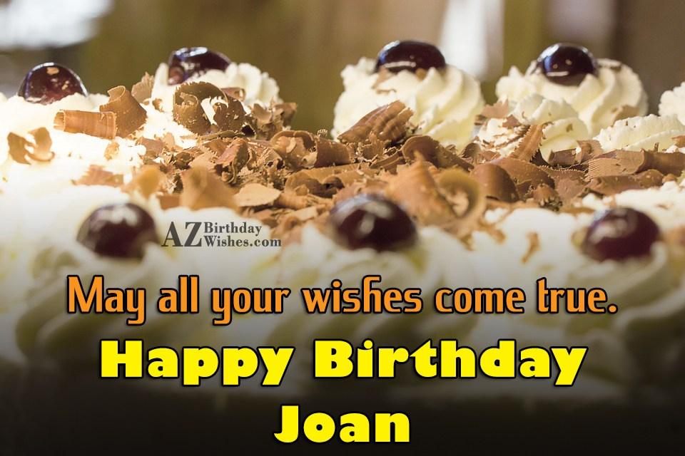 Happy Birthday Joan
