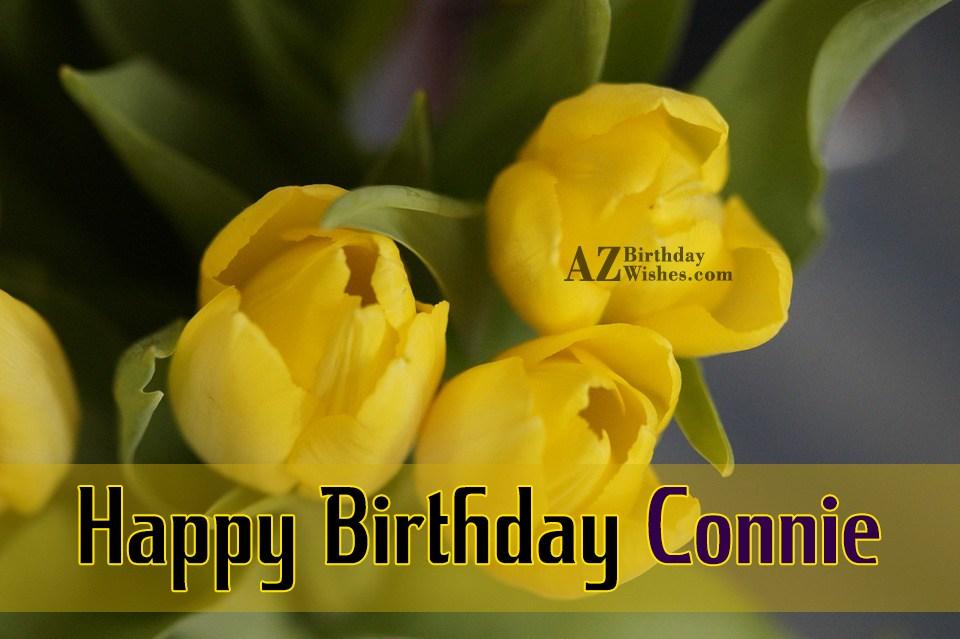 Happy Birthday Connie