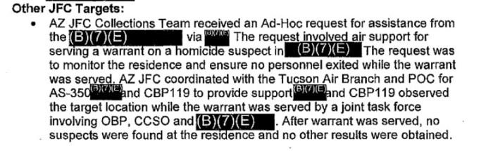 CBP drone example