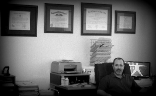 Dr. Andrew Altman in his office