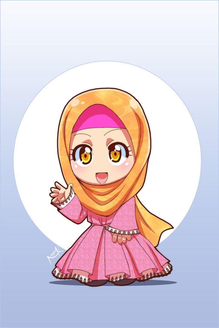 Gambar Kartun Muslimah Sedang Sedih Kantor Meme