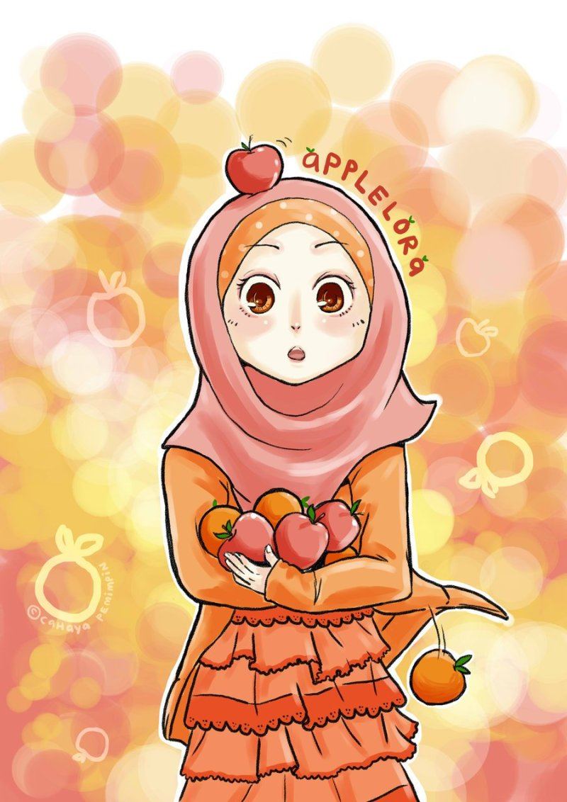 80 Gambar Kartun Muslimah Comel Cantik Gratis Terbaik