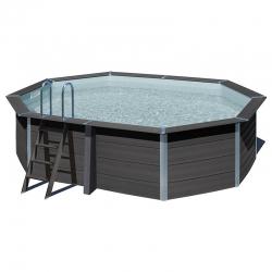 piscine bois composite avant garde gre 5 24 x 3 86 x h1 24m