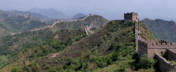 The great 'walls' of China