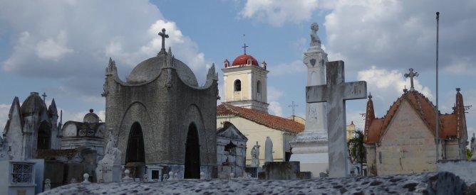 Necropolis, stad van de doden. Camagüey