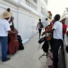 Stoepmuzikanten. Santiago de Cuba