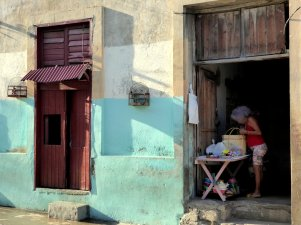 Lekker Chinees die vogelkooitjes. Santiago de Cuba