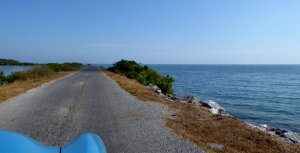 De causeway naar Cayo Jutias