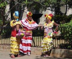 Lekker opgedirkt voor de toeristen. Havanna