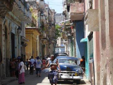 Leuk straatje in Havanna