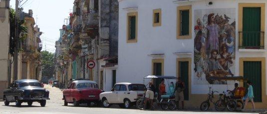 Alweer een leuk straatje. Havanna