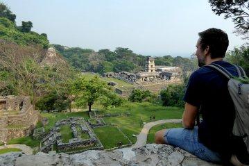 Even wegdromen over hoe het hier zo'n 1400 jaar geleden geweest moet zijn. Palenque