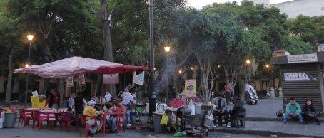 Straattentjes! Altijd gezellig! Mexico City