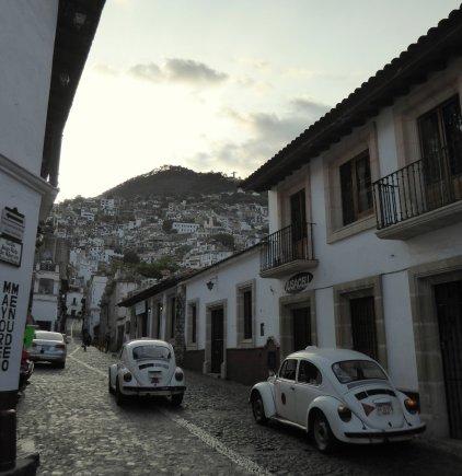 Witte eendjes in wit Taxco.