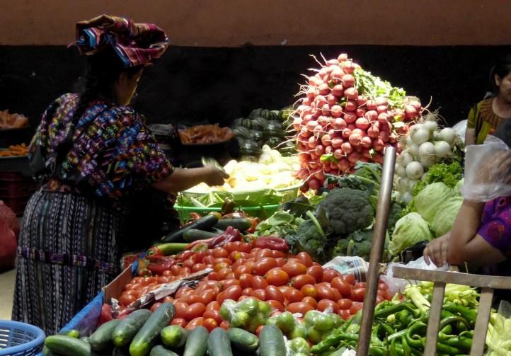 Markt. Chichicastenango