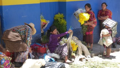 Zoekplaatje. Chichicastenango