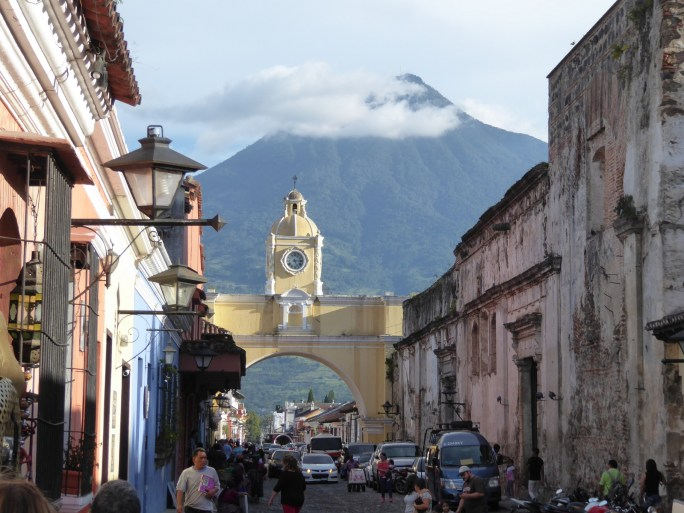 Leuk straatje. Antigua