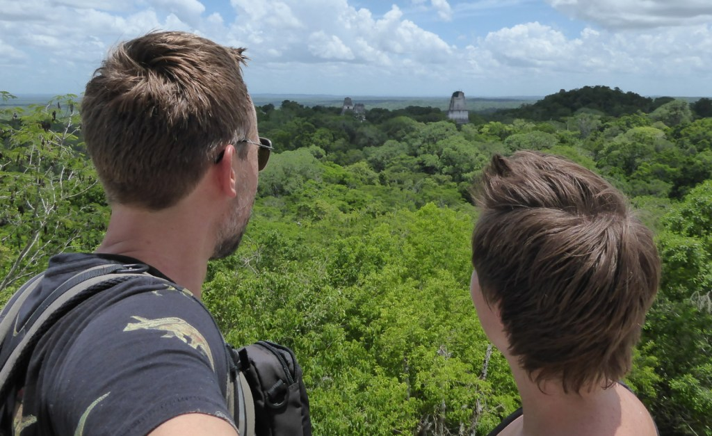 Hep'ie us op templo IV. Tikal
