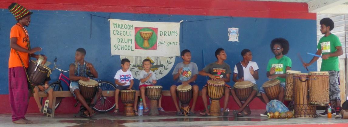 Drums no guns! Punta Gorda