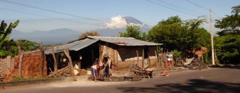 Vulkaan San Miguel! Uhh onderweg naar Sam Miguel