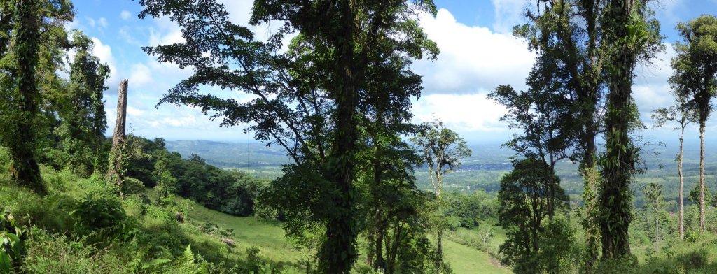 Uitzichtje op de terugweg van Cerro Chato. (Costa Rica)