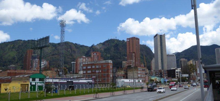 Het eigen sjeertje van Bogoto (Colombia).