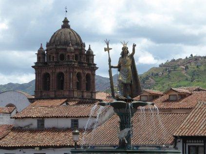 gespot... Plaza de Armas. Cusco